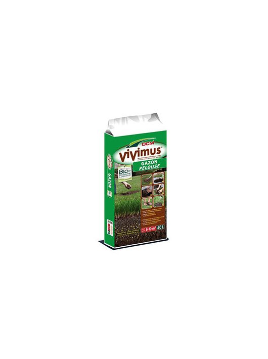 DCM VIVIMUS talajjavító gyepre felülvetéshez (40 l)